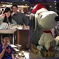 13開心用餐~結束後~在百貨公司看到超大的史努比.jpg