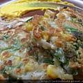 玉米甜蝦煎餅