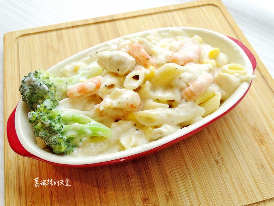 白醬做法-焗烤海鮮飯 (16).jpg