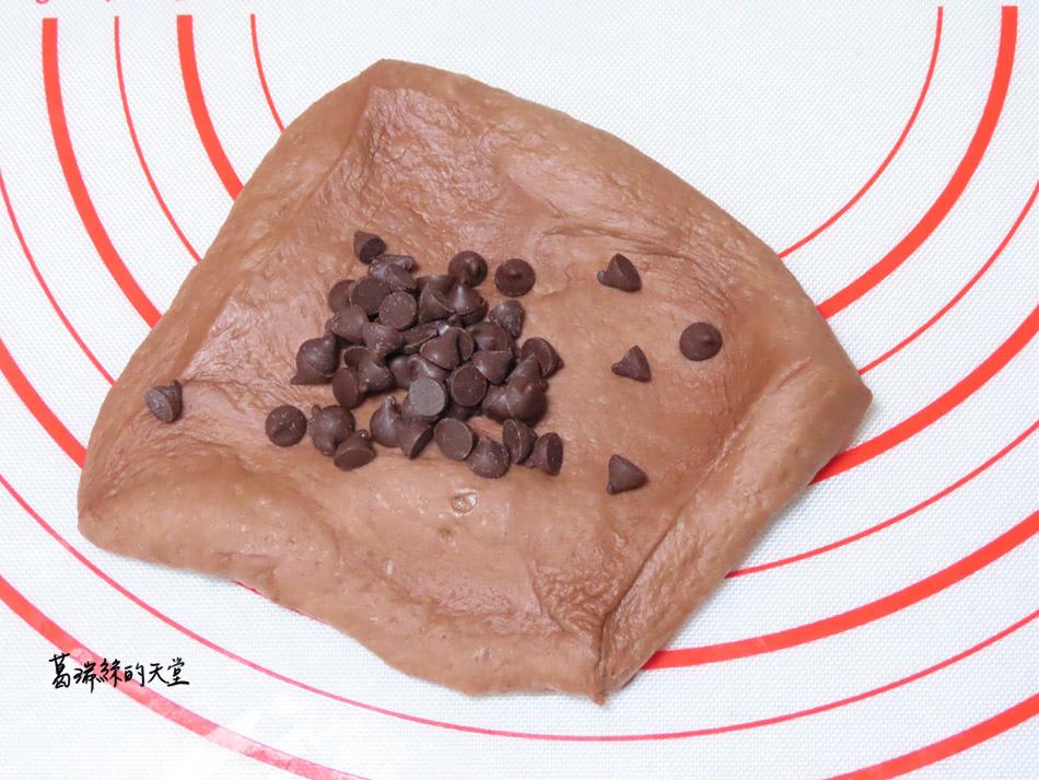 巧克力麵包-巧克力豆豆做法 (8).jpg