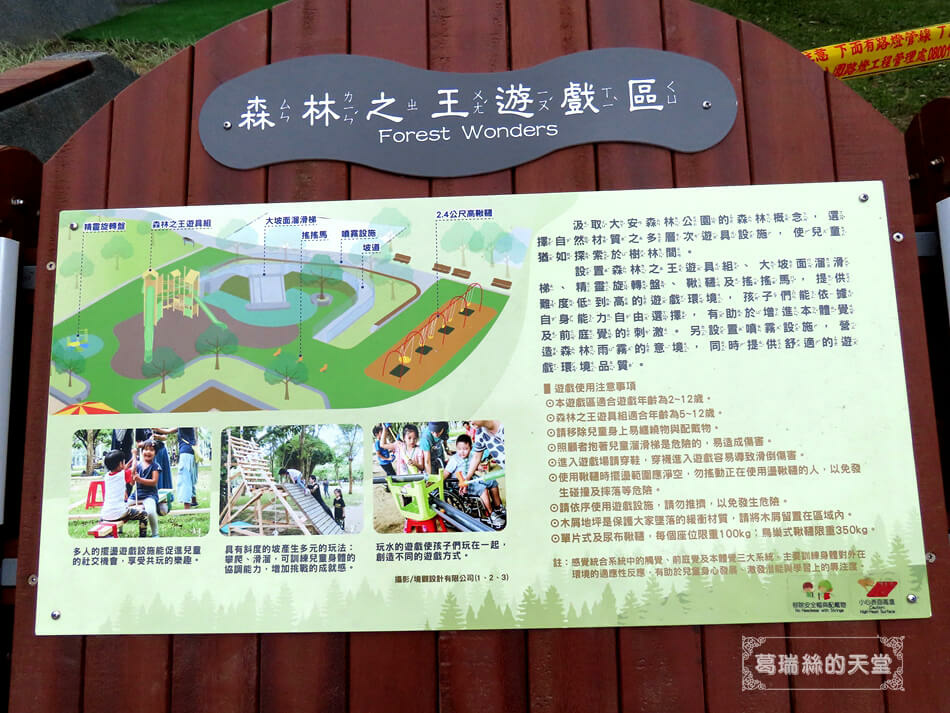 台北特色公園-大安森林公園-森林之王遊戲區 (3).JPG