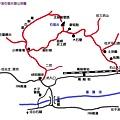 平溪石筍尖登山地圖