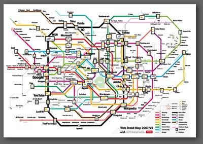web trend 2007 map