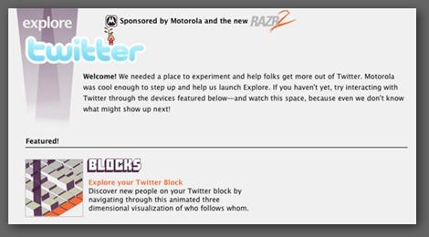 Twitter blocks
