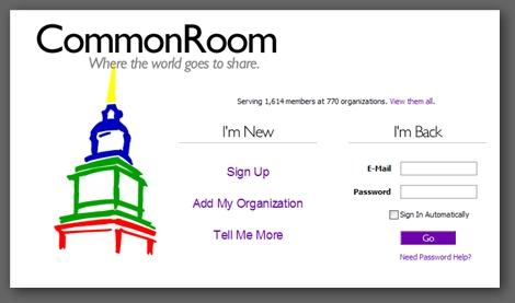 CommonRoom 社群網站