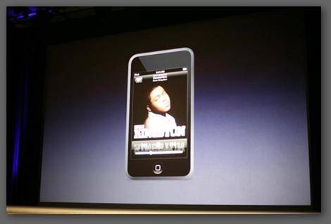 Apple iPod touch screen 觸控式 寬螢幕