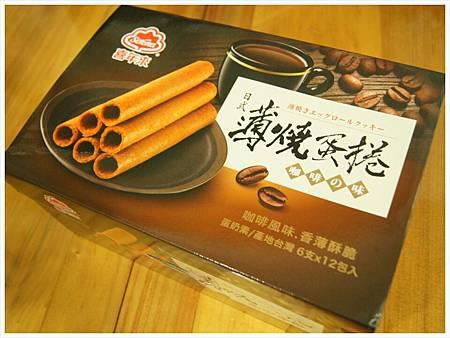 喜年來日式薄燒蛋捲(咖啡口味)2