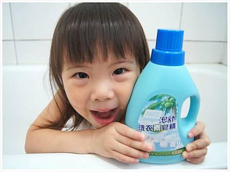 泡舒洗衣素皂精1