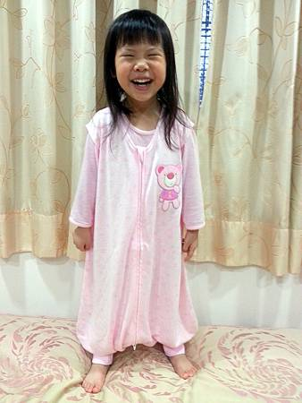 BabyCity背心式防踢睡袍1