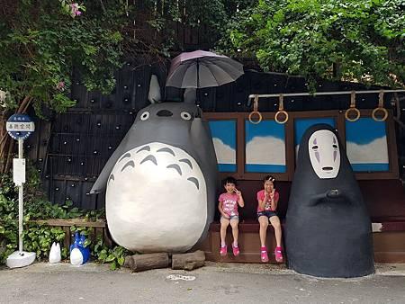1070922龍貓公車站1