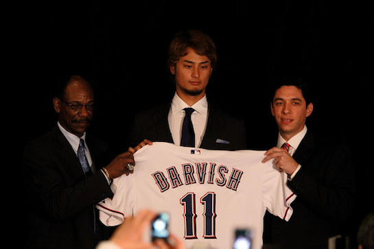 Jon+Daniels+Texas+Rangers+Introduce+Yu+Darvish+H9we2mSOQMil