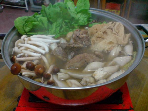 肉骨茶火鍋
