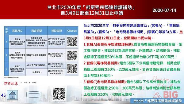 2020-07-14 台北市2020年度「都更程序整建維護補助」自3月9日起至12月31日止申請.JPG