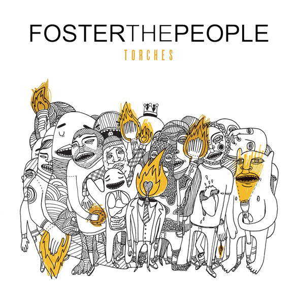 Foster The People Torches album artwork