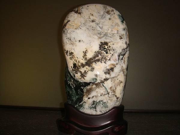 花蓮木瓜溪玫瑰石13乘26cm(含座).JPG