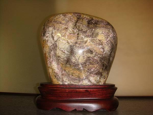 花蓮玫瑰石17乘28cm(含座).JPG