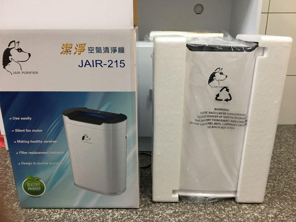 JAIR-215空氣清淨機,包裝