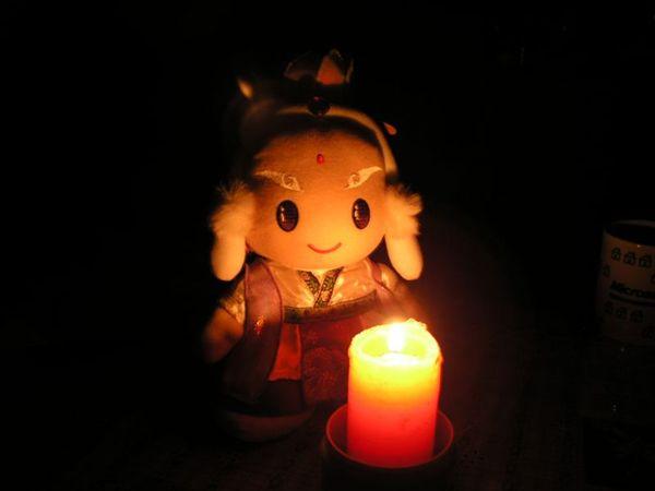 無聊點蠟燭..|||..