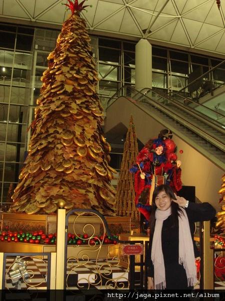 香港赤臘角機場呢!