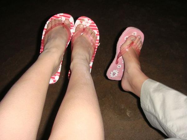 我&star的腳ㄚ子