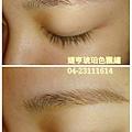 婕亨台中專業飄眉+繡眉-琥珀色飄繡眉照片分享
