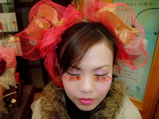 婕亨台中創意彩妝教學