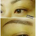 婕亨台中專業飄眉繡眉+亮黑內眼線