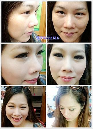 婕亨台中彩妝教學。化妝教學。化妝課程