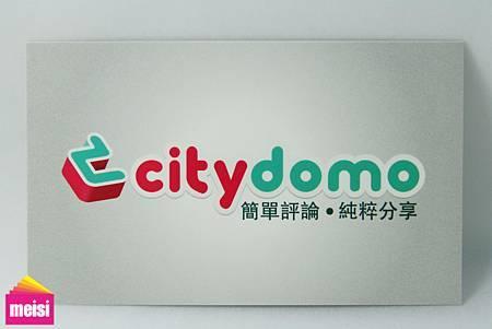Citydemo名片背面