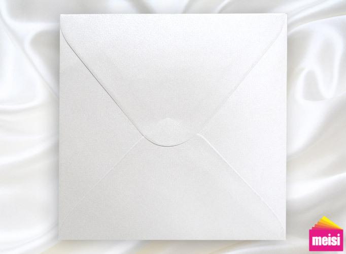 300-珠光白-方型喜帖信封