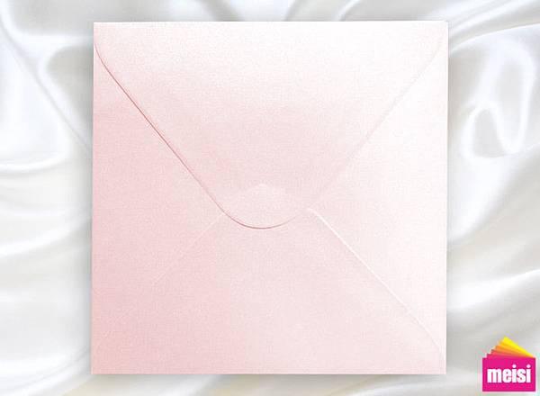300-珠光粉-方型喜帖信封
