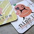 使用卡通人物的名片設計案例