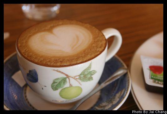 豐原斯比亞咖啡卡布奇諾