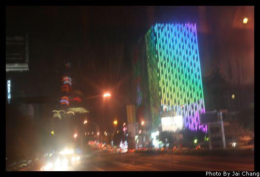 台中中港路夜景