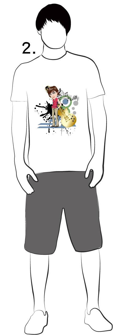 鳳梨酥音樂工作室-T恤設計2