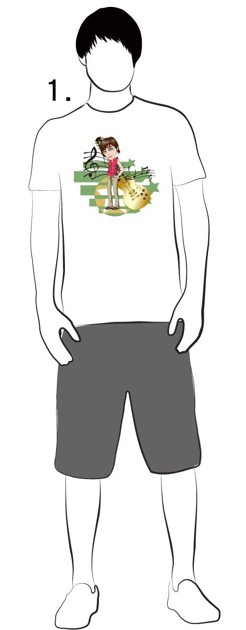 鳳梨酥音樂工作室-T恤設計1