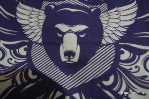 飛行小熊t恤