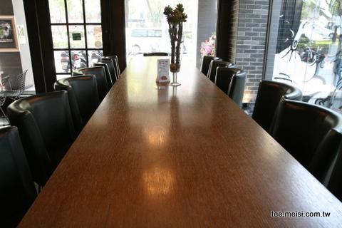 東區新地標The SOHO - 長桌