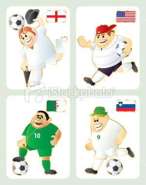 2010世界盃C組-卡通