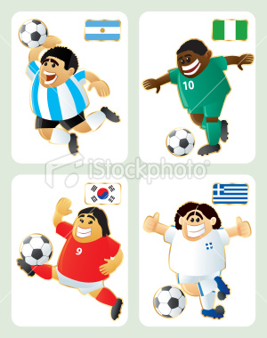 2010世界盃B組-特色插畫
