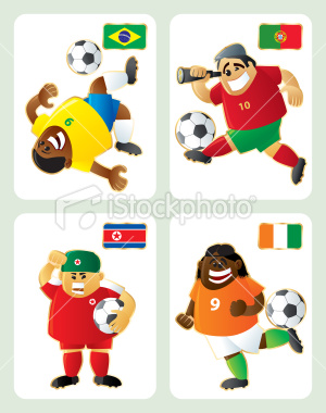 2010世界盃G組-特色插畫