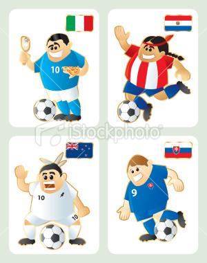 2010世界盃F組-特色插畫