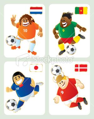 2010世界盃E組-特色插畫