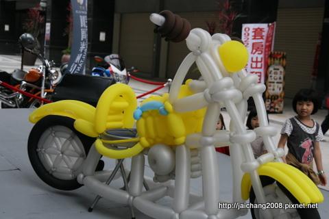 台中益民商圈-重型機車展示