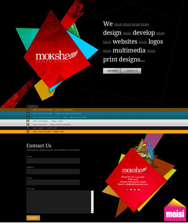 一頁式網站設計案例