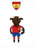 世界盃八強-西班牙-鬥牛