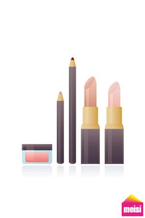 化妝師、彩妝師、美容師、指甲彩繪名片樣版
