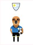 世界盃八強-烏拉圭 - 棕灶鳥