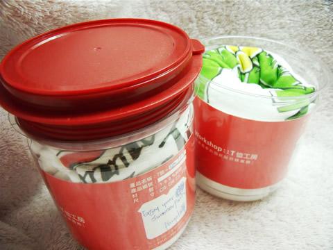 Summer墾丁手繪風T恤-包裝罐