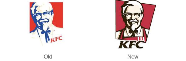 好的Logo重新設計案例-KFC